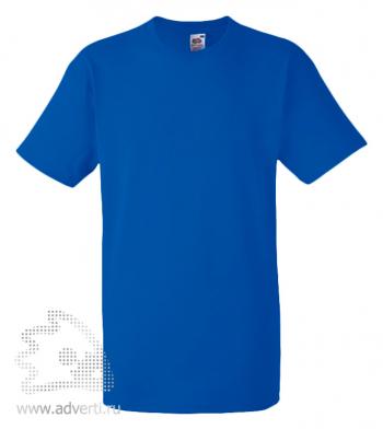Футболка «Heavy Cotton T», мужская, синяя