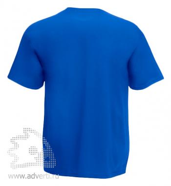 Футболка «Heavy Cotton T», мужская, синяя оборот
