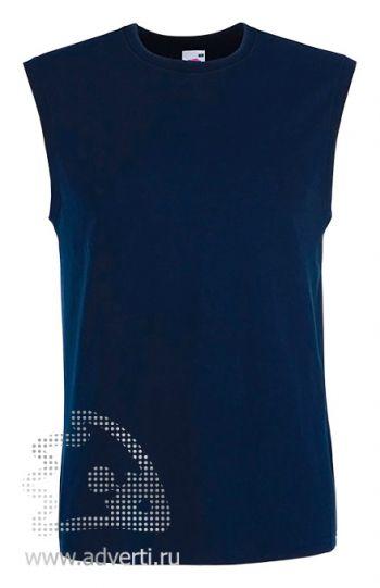 Футболка без рукавов «TANK TOP», мужская, темно-синяя
