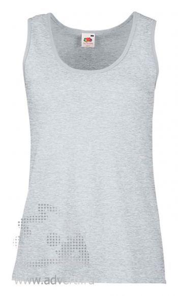 Футболка «Lady-fit Valueweight Vest», женская, серо-лиловая