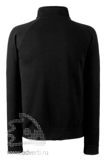 Толстовка «Zip-Neck Sweat», мужская, дизайн спины