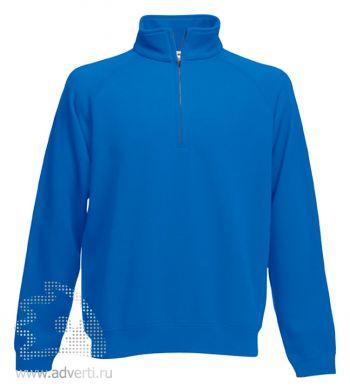 Толстовка «Zip-Neck Sweat», мужская, ярко-синяя