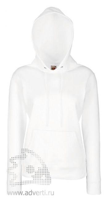 Толстовка «Lady-Fit Hooded Sweat», женские, белая