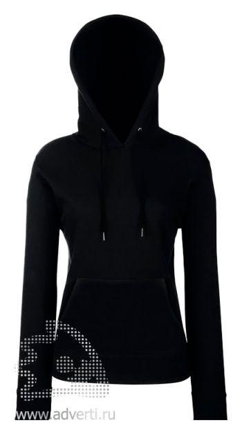 Толстовка «Lady-Fit Hooded Sweat», женские, черная