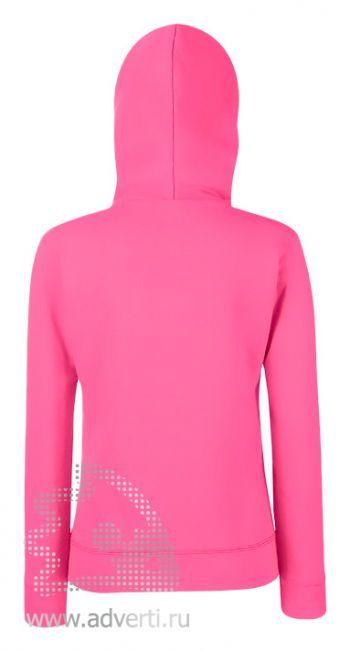 Толстовка «Lady-Fit Hooded Sweat», женские, дизайн спины