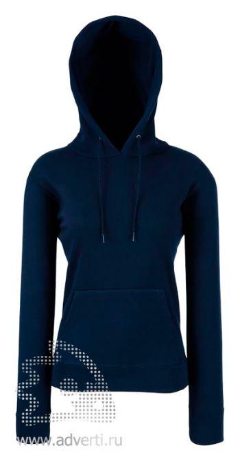 Толстовка «Lady-Fit Hooded Sweat», женские, глубокий темно-синий