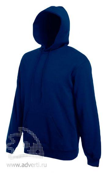 Толстовка «Hooded Sweat», мужская, темно-синяя