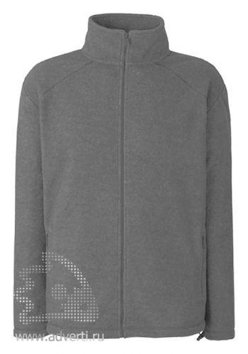 Куртка флисовая «Full Zip Fleece», дымчато-серая
