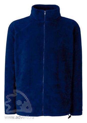 Куртка флисовая «Full Zip Fleece», темно-синяя