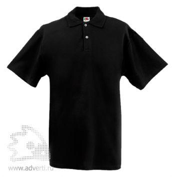 Рубашка поло «Screen Stars Original Polo», мужская, черная