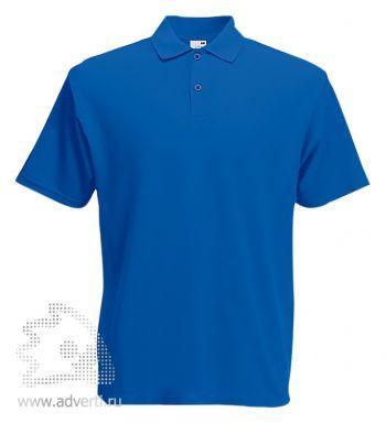 Рубашка поло «Screen Stars Original Polo», мужская, синяя
