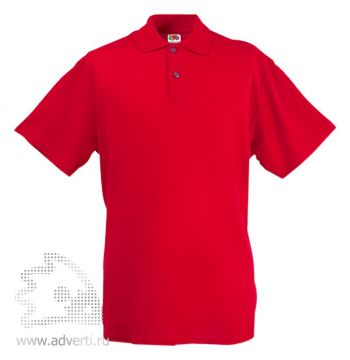 Рубашка поло «Screen Stars Original Polo», мужская, красная