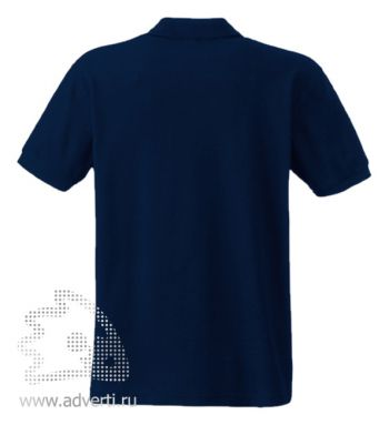 Рубашка поло «Screen Stars Original Polo», мужская, темно-синяя оборот