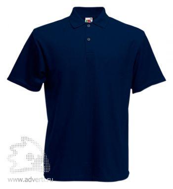 Рубашка поло «Screen Stars Original Polo», мужская, темно-синяя
