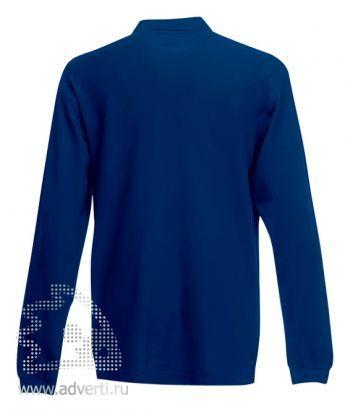 Рубашка поло «Premium Long Sleeve Polo», вид спины