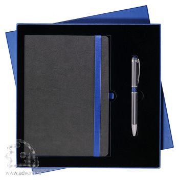 Подарочный набор «Aurora» Portobello, сине-серый