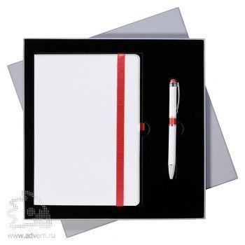 Подарочный набор «Arctic» Portobello, бело-красный