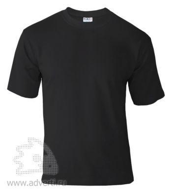 Футболка «Hasky», унисекс, черная