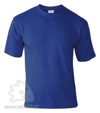 Футболка «Hasky», унисекс, синяя