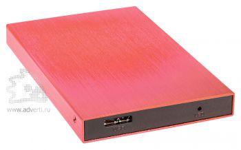 Внешний жесткий диск «Basic», красный