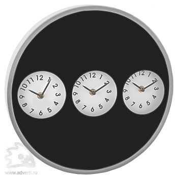 Часы настенные «Часовые пояса»