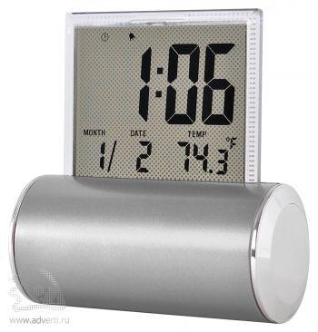 Часы электронные «Rolling», серебристые