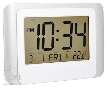 Часы «Good day» с будильником, календарем и термометром