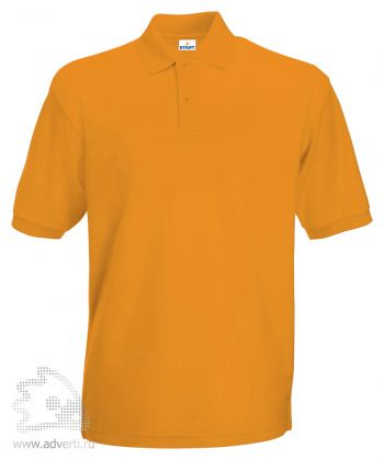 Рубашка поло «Apollo», мужская, желтая