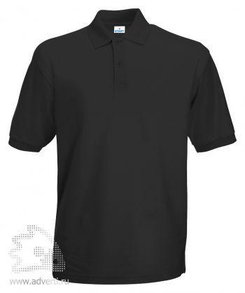 Рубашка поло «Apollo», мужская, черная