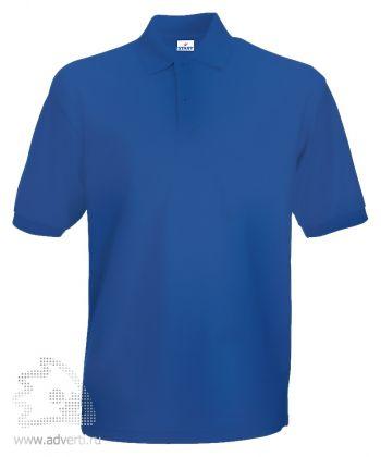 Рубашка поло «Apollo», мужская, синяя