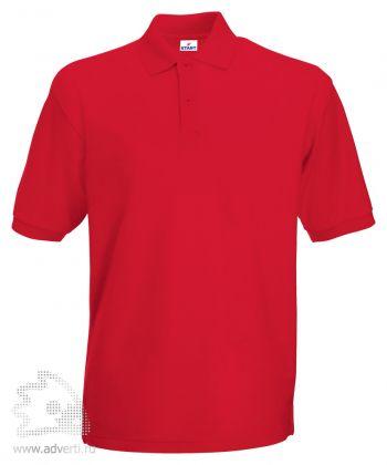 Рубашка поло «Apollo», мужская, красная