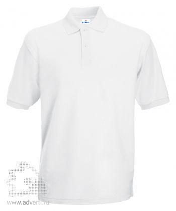 Рубашка поло «Apollo», мужская, белая