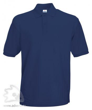 Рубашка поло «Apollo», мужская, темно-синяя