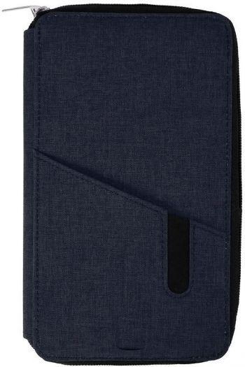 Футляр дорожный «Portable» с зарядным устройством, 4000mAh, темно-синий