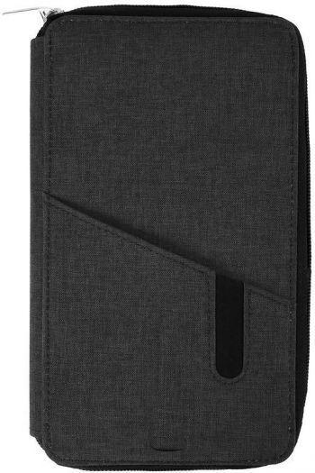 Футляр дорожный «Portable» с зарядным устройством, 4000mAh, темно-серый