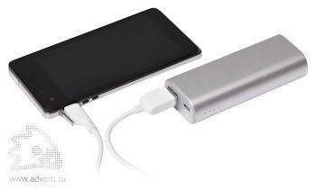 Универсальное зарядное устройство «Wister» 5200mAh, usb шнур