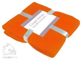 Плед «Mohair», оранжевый