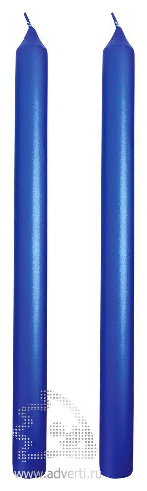 Свечи подарочные «Вечер», синие