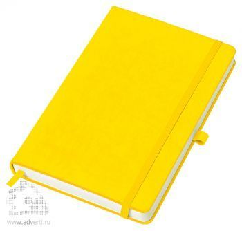 Бизнес-блокнот «Justy» A5, желтый