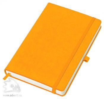 Бизнес-блокнот «Justy» A5, оранжевый