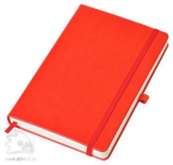 Бизнес-блокнот «Justy» A5, красный