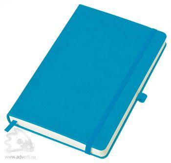 Бизнес-блокнот «Justy» A5, голубой