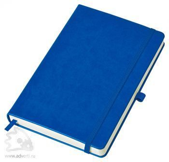 Бизнес-блокнот «Justy» A5, синий