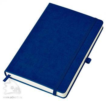 Бизнес-блокнот «Justy» A5, темно-синий