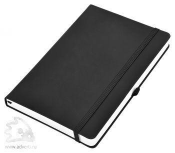 Бизнес-блокнот «Silky» А5, черный