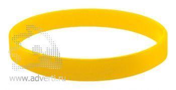 Браслет силиконовый «Фантазия», желтый