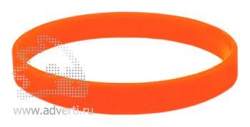 Браслет силиконовый «Фантазия», оранжевый