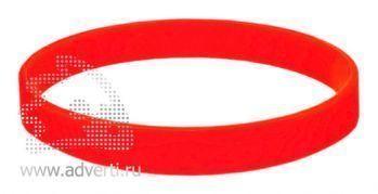 Браслет силиконовый «Фантазия», красный
