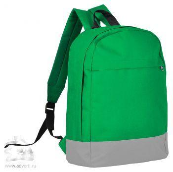 Рюкзак «Urban», зеленый с серым
