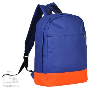 Рюкзак «Urban», синий с оранжевым